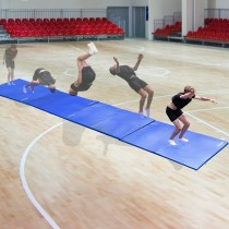 BEEMAT LIGHTWEIGHT FOLDING GYMNASTICS MAT