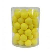 PRACTICE TABLE TENNIS BALLS - YELLOW