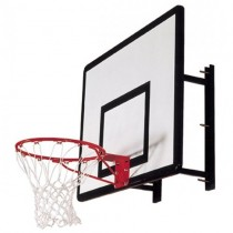 SURE SHOT HEAVY DUTY WALL MOUNT BASKETBALL SYSTEM