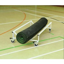 INDOOR CRICKET/BOWLS MAT TROLLEY