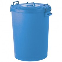 STORAGE / DUSTBIN WITH CLASP LID
