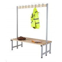 CLOAKROOM HOOK BENCHES - DOUBLE
