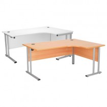 CRESENT CANTILEVER WORKSTATION - RIGHT HAND