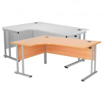 CRESENT CANTILEVER WORKSTATION - LEFT HAND