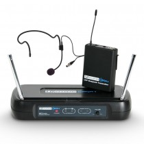 ECO UHF WIRELESS HEADSET MICROPHONE SYSTEM