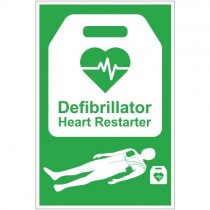DEFIBRILLATOR SIGN (200 x 300mm)