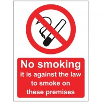 NO SMOKING SIGN (150 x 200mm)