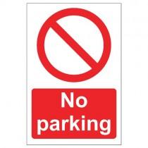 NO PARKING SIGN (200 x 300mm)