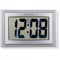 LCD RADIO CONTROLLED WALL CLOCK