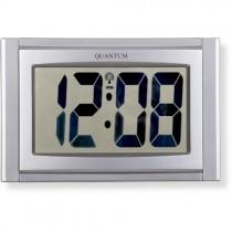 LCD RADIO CONTROLLED WALL CLOCK