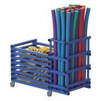 VENDIPLAS MULTIPURPOSE STORAGE TROLLEY - TWO-SECTION