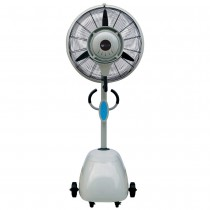 CYCLONE PEDESTAL MISTING FAN (650mm)