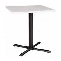 ORLANDO MFC CAST IRON TABLE - WHITE RECTANGULAR (1200 x 800mm)