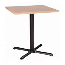ORLANDO MFC CAST IRON TABLE - BEECH RECTANGULAR (1200 x 800mm)