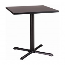 ORLANDO SMF CAST IRON TABLE - BLACK SQUARE (700mm)