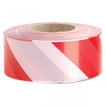 ZEBRA TAPE - RED/WHITE