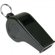 BLACK PLASTIC WHISTLE