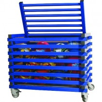 VENDIPLAS MOBILE STORAGE TROLLEY - LID TOP (SMALL)