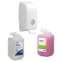 HAND CLEANSER DISPENSER & REFILLS