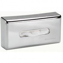 CHROME FACIAL TISSUE DISPENSER