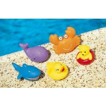 FLOATING SQUEAKY TOY SET