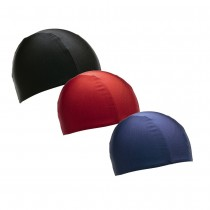 POLYESTER SWIM CAPS - PLAIN