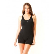 SPEEDO ESSENTIAL LEGSUIT - BLACK