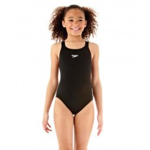 SPEEDO JUNIOR MEDALIST SWIMSUIT - BLACK