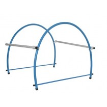 WEIGHTED 'D' SHAPE CROSSBAR HOOP