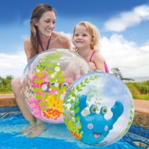 AQUARIUM BEACH BALL (610mm)