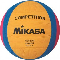 MIKASA COMPETITION AND TRAINING WATER POLO  BALL - JUNIOR (SIZE 2)