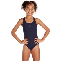 SPEEDO JUNIOR MEDALIST SWIMSUIT - NAVY