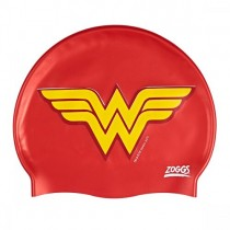 ZOGGS JUNIOR WONDER WOMAN SILICONE SWIM CAPS
