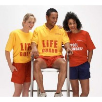 JPL LIFEGUARD POLO SHIRTS - POLYESTER/COTTON
