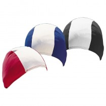 POLYESTER SWIM CAPS - STRIPED